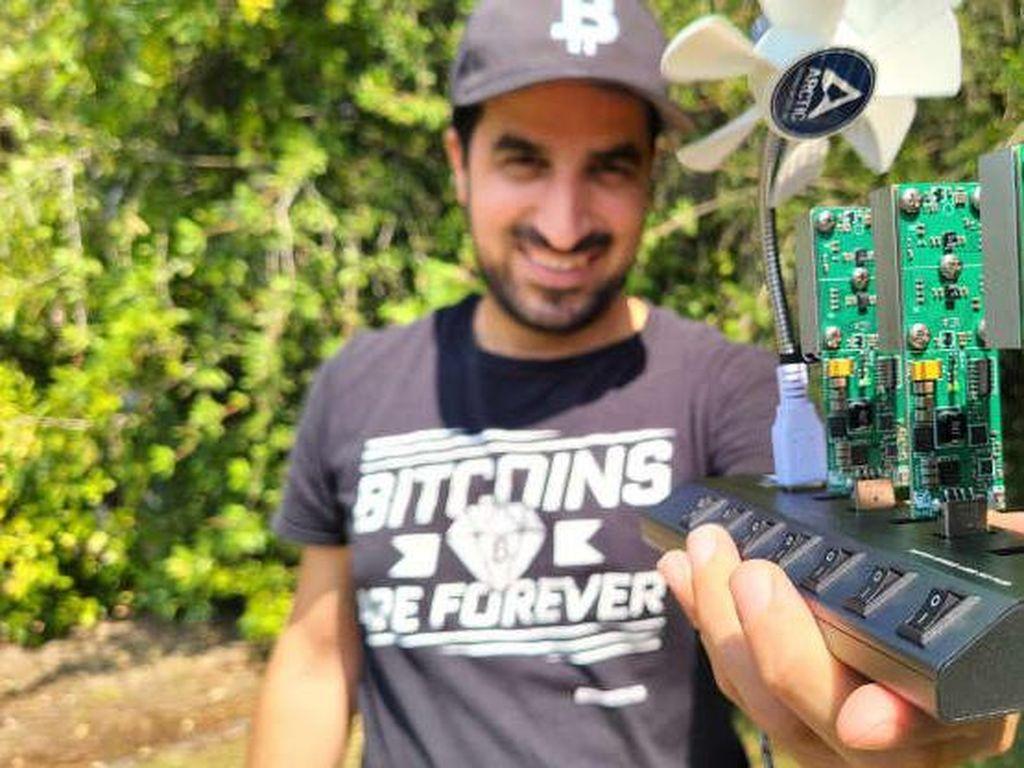Pria Ini Punya Tambang Bitcoin Mini, Listrik Nebeng Starbucks