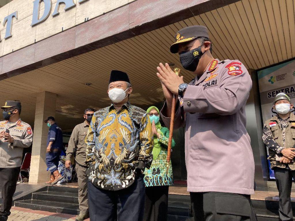 Kapolri Minta Para Kapolda Gandeng Muhammadiyah: Percepat Vaksinasi COVID