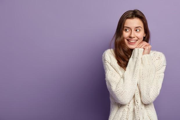 Ilustrasi wanita setelah konseling