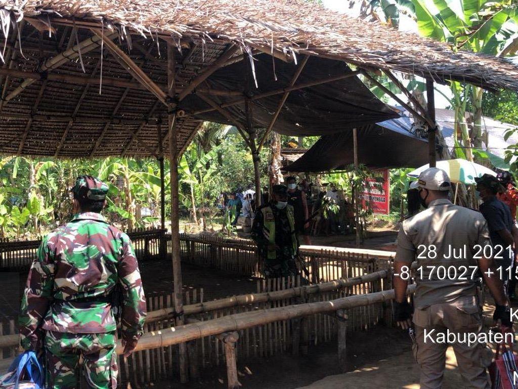COVID-19 di Buleleng Naik Tajam, Pria Ini Malah Gelar Judi Sabung Ayam