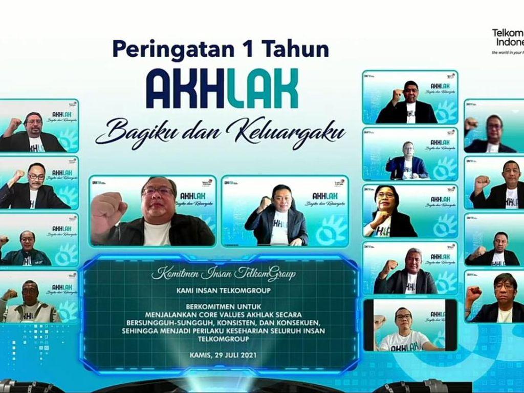 Wujudkan Akselerasi Digital Indonesia, TelkomGroup Perkuat Nilai AKHLAK
