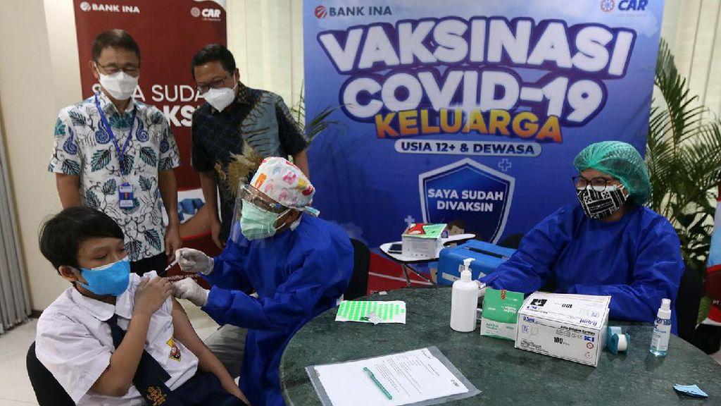 Vaksinasi Anak Terus Digeber