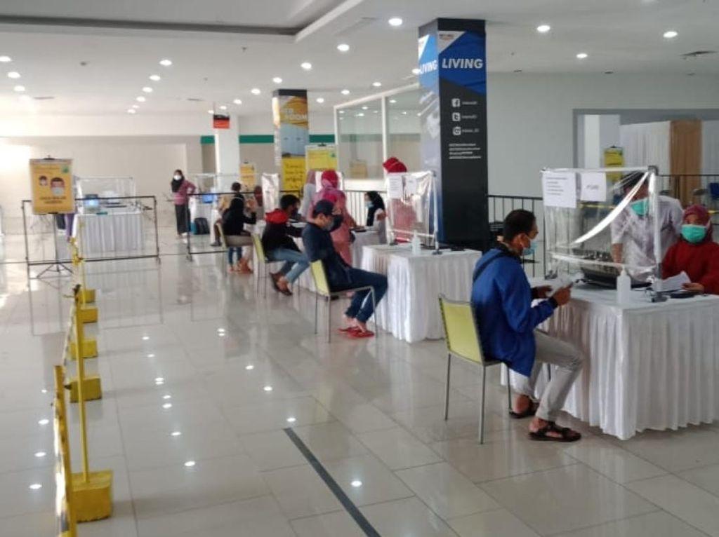 Dirikan Sentra Vaksinasi di Bogor, BPBD Jabar Sasar 56 Ribu Warga