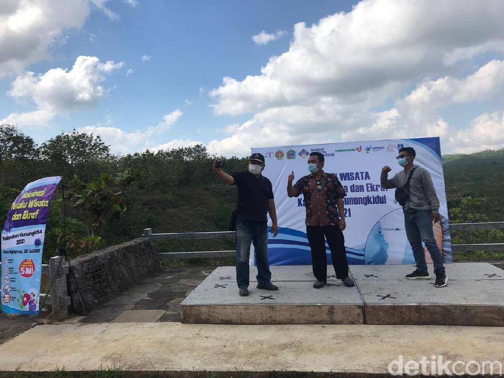 Kebut Herd Immunity, Gunungkidul Adakan Vaksinasi di Geosite Ngingrong
