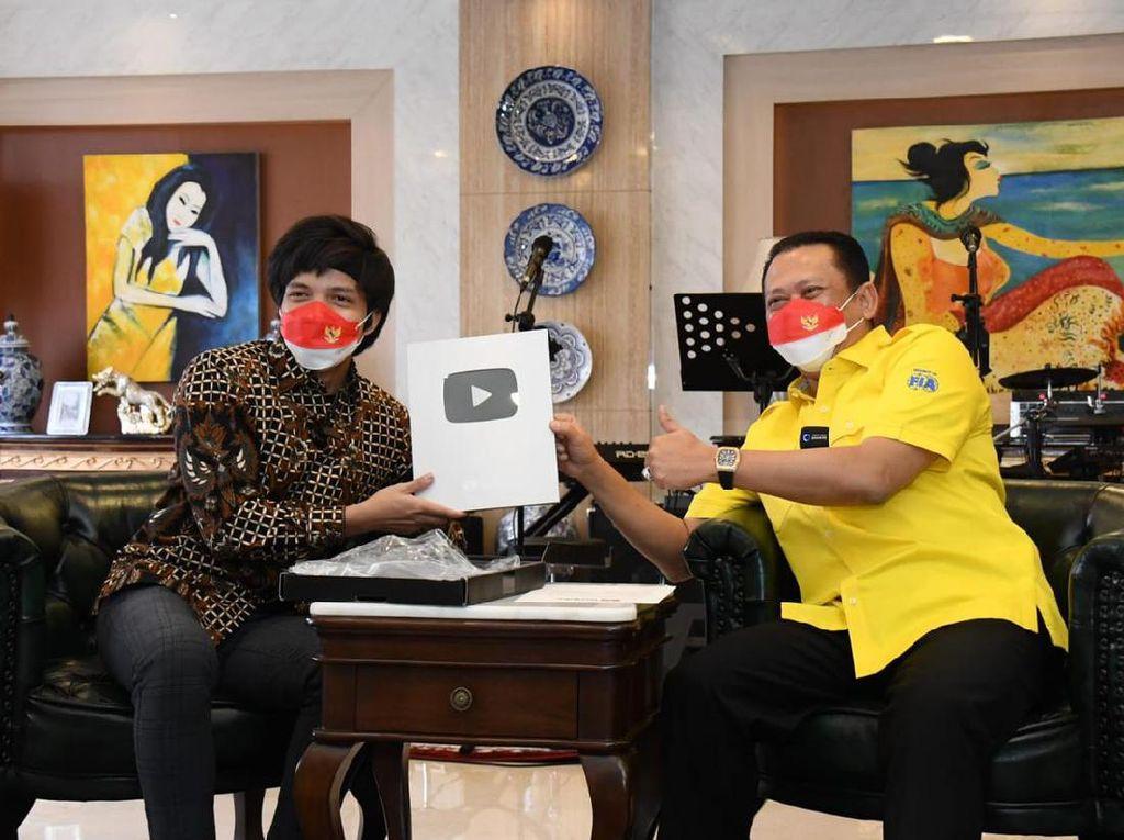 Usai YouTube, Bamsoet Akan Sosialisasi 4 Pilar MPR Lewat TikTok