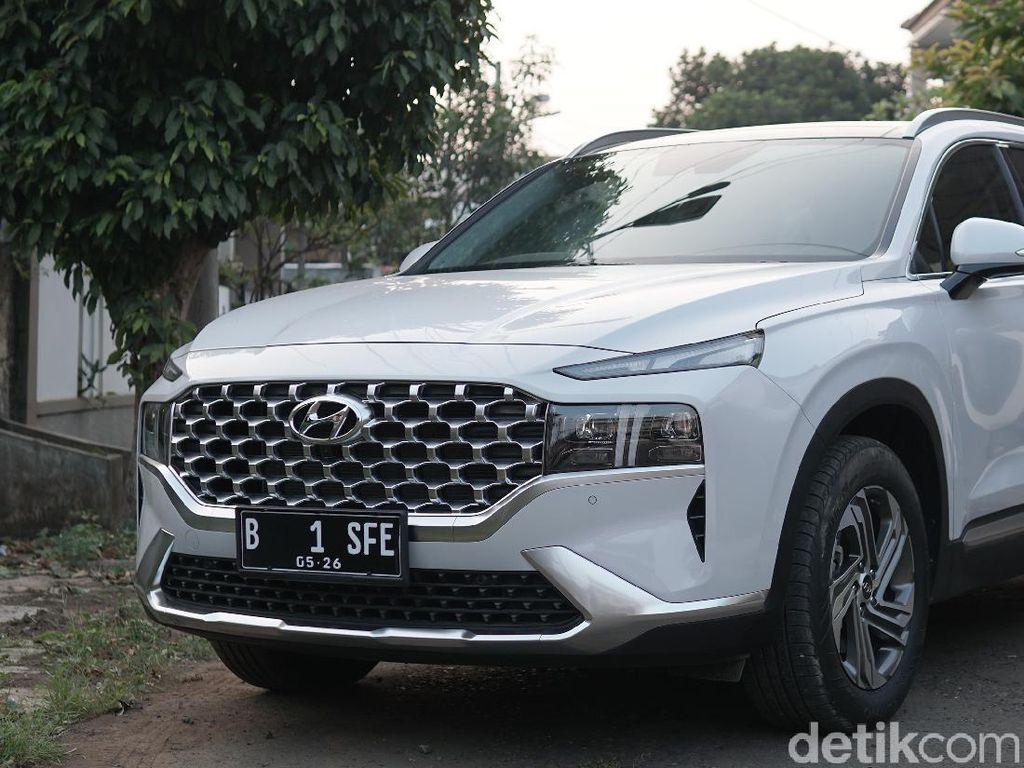 Hyundai Santa Fe, Siap Tantang Dominasi Fortuner-Pajero Sport