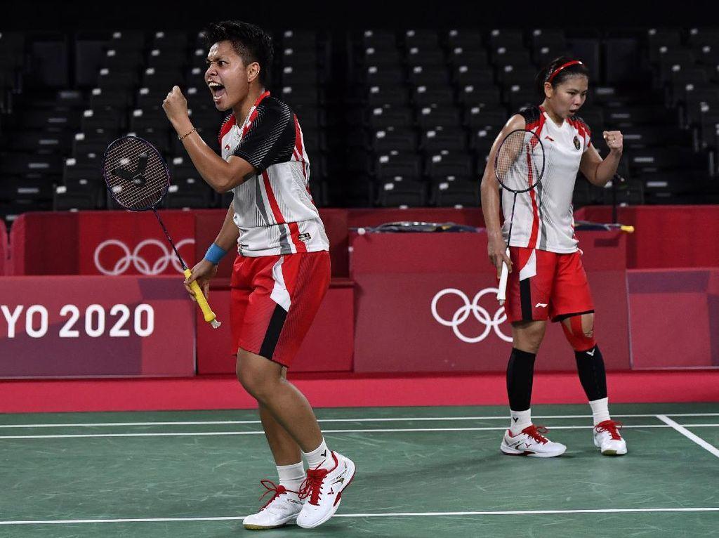 Greysia/Apriyani Tembus Final Olimpiade, Netizen: Fenomenal!