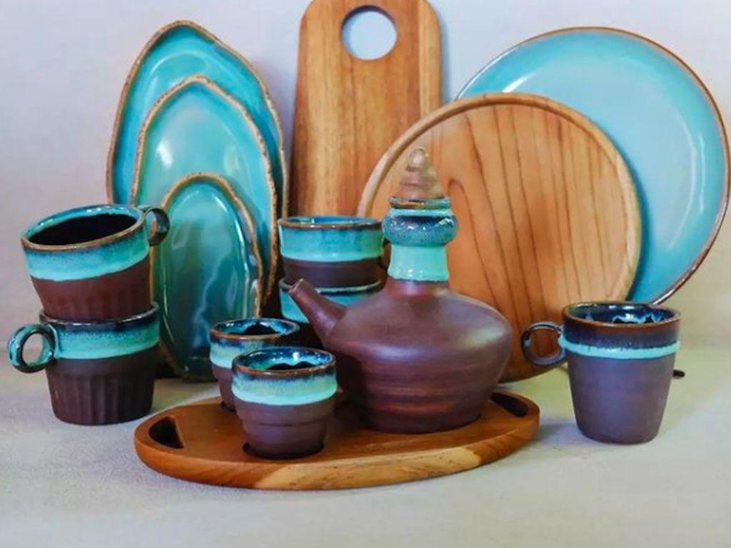 Salut! Keramik Asal SalatigaIni Tembus Ekspor ke Arab-Australia