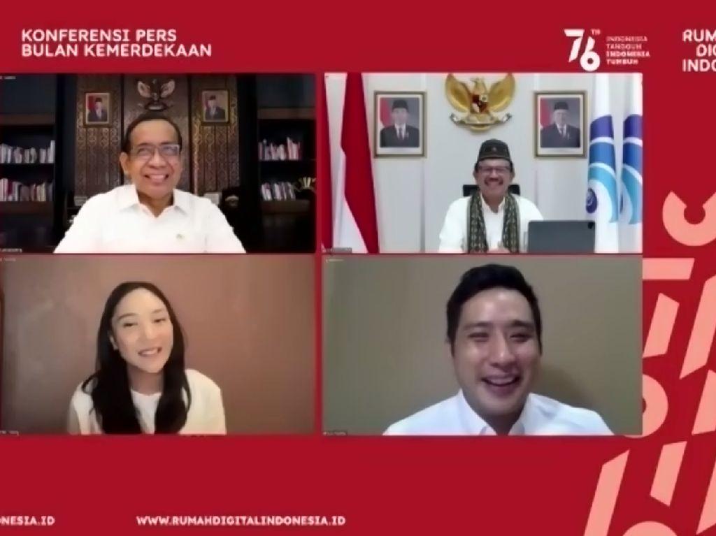 Pemerintah Launching Bulan Kemerdekaan dan Rumah Digital Indonesia