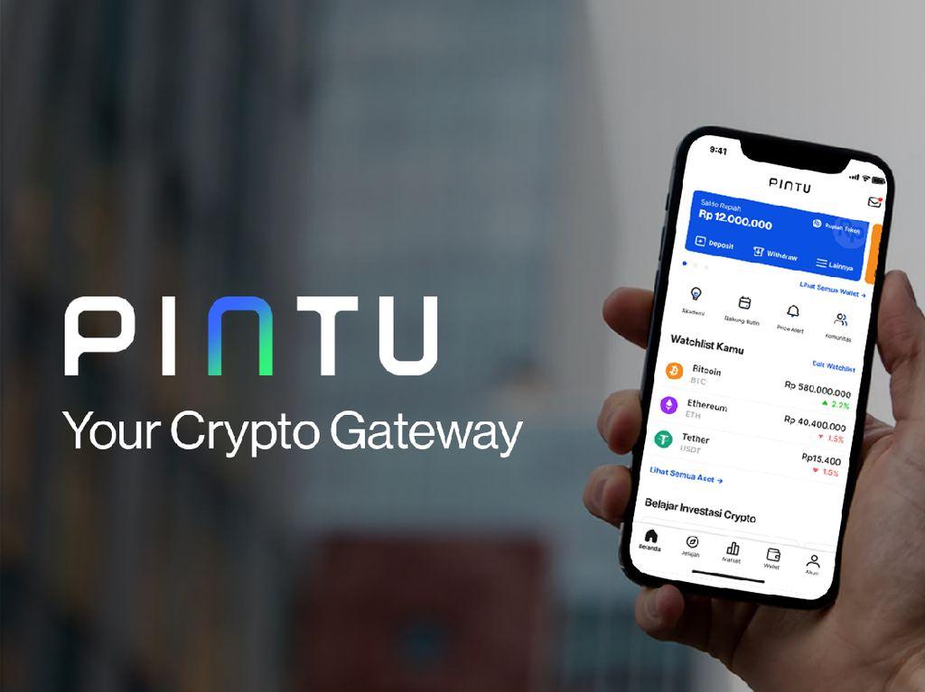 Aplikasi Trading Kripto Pintu Raih Pendanaan dari Investor Global