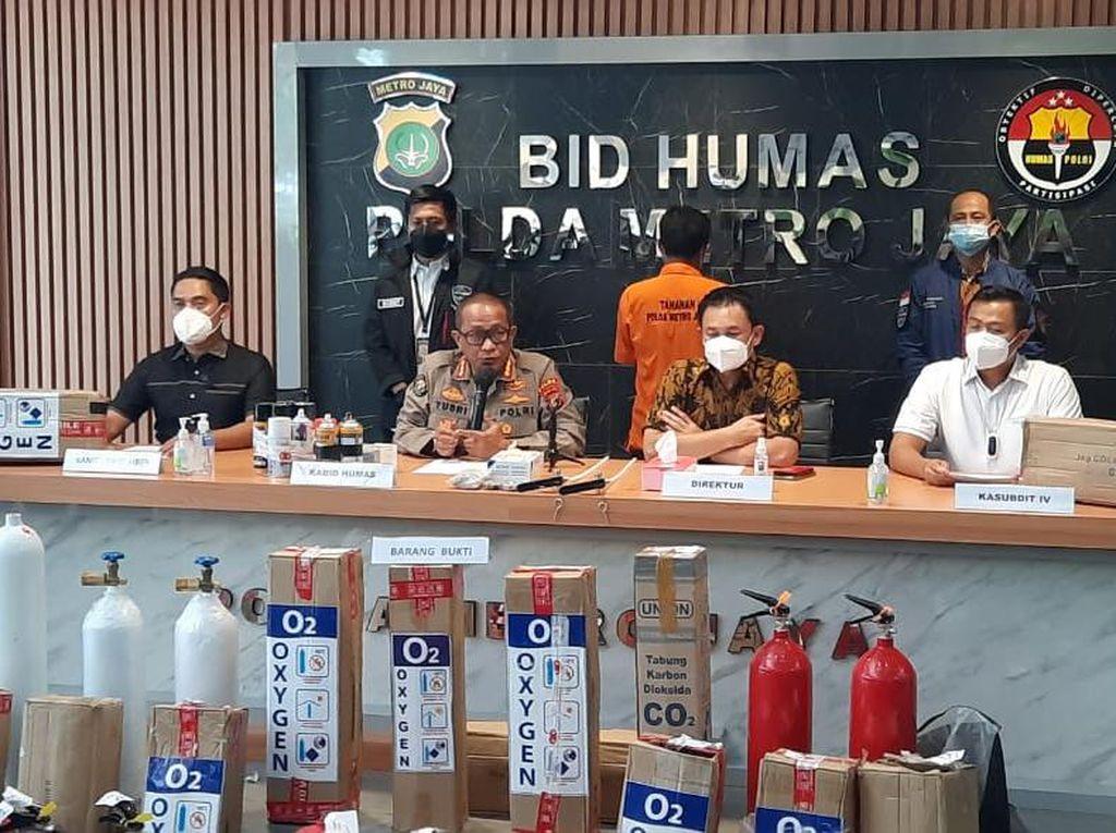 Terbongkar Aksi Tipu-tipu Penjual Tabung Oksigen dari APAR