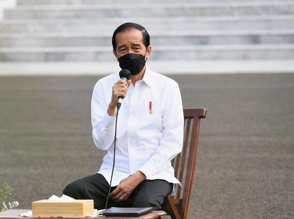 Buka-bukaan Jokowi soal RI Tak Bisa Lockdown Seperti Negara Lain