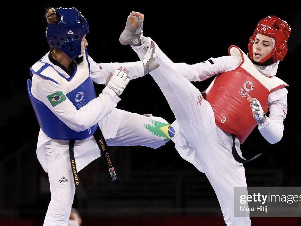 Viral Atlet Taekwondo di Olimpiade Disebut Mirip Lady Gaga Versi Berhijab
