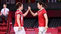 Greysia/Apriyani Vs Chen/Jia di Final Ganda Putri Olimpiade Tokyo 2020