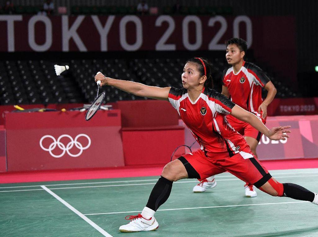 Olimpiade Tokyo 2020: Rekor Pertemuan Greysia/Apriyani Vs Chen/Jia