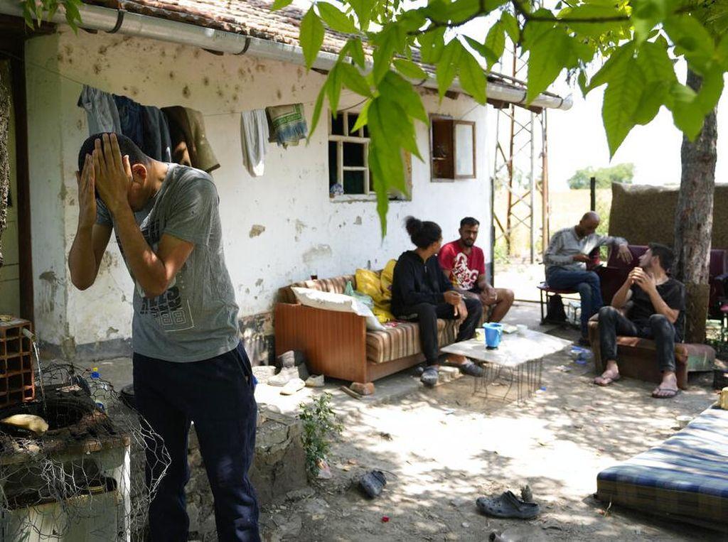 Intip Nasib Para Imigran di Perbatasan Serbia