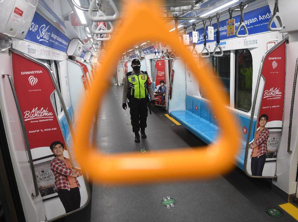 Selama PPKM Level 3, Penumpang MRT Melonjak 237%!