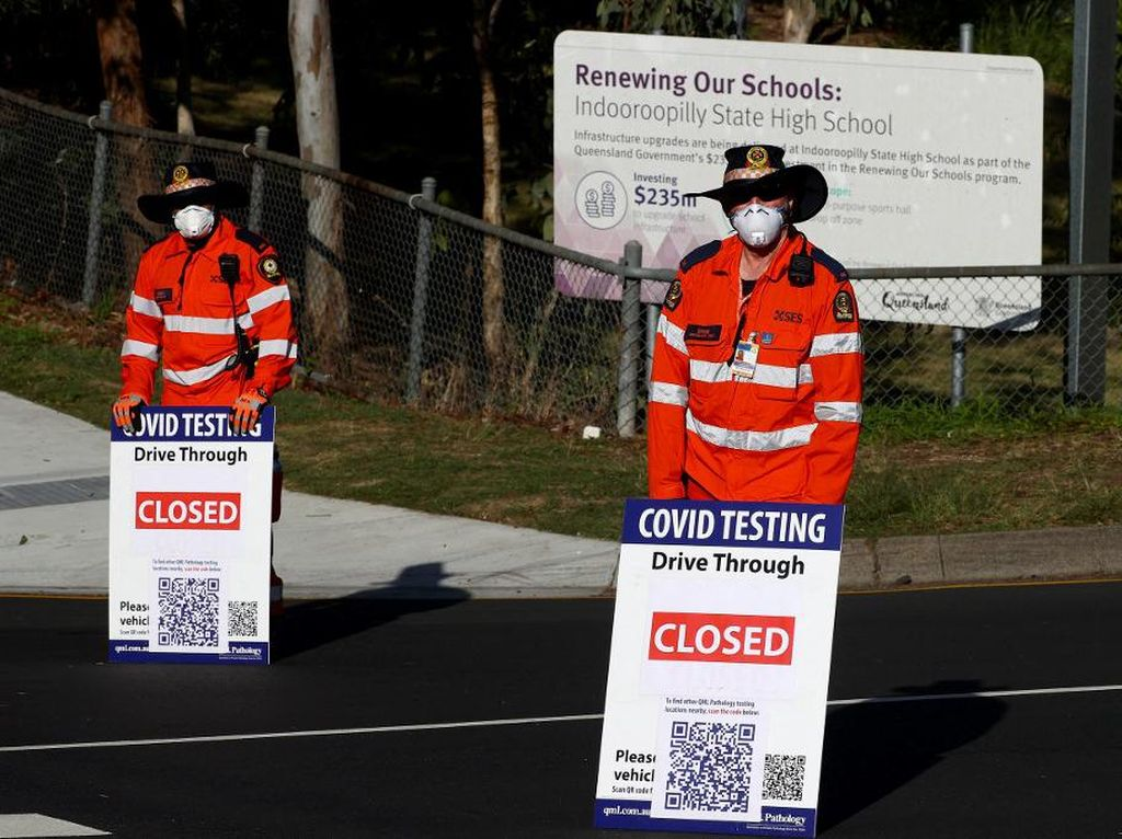Cegah Varian Delta, Lockdown Corona Diterapkan di Brisbane
