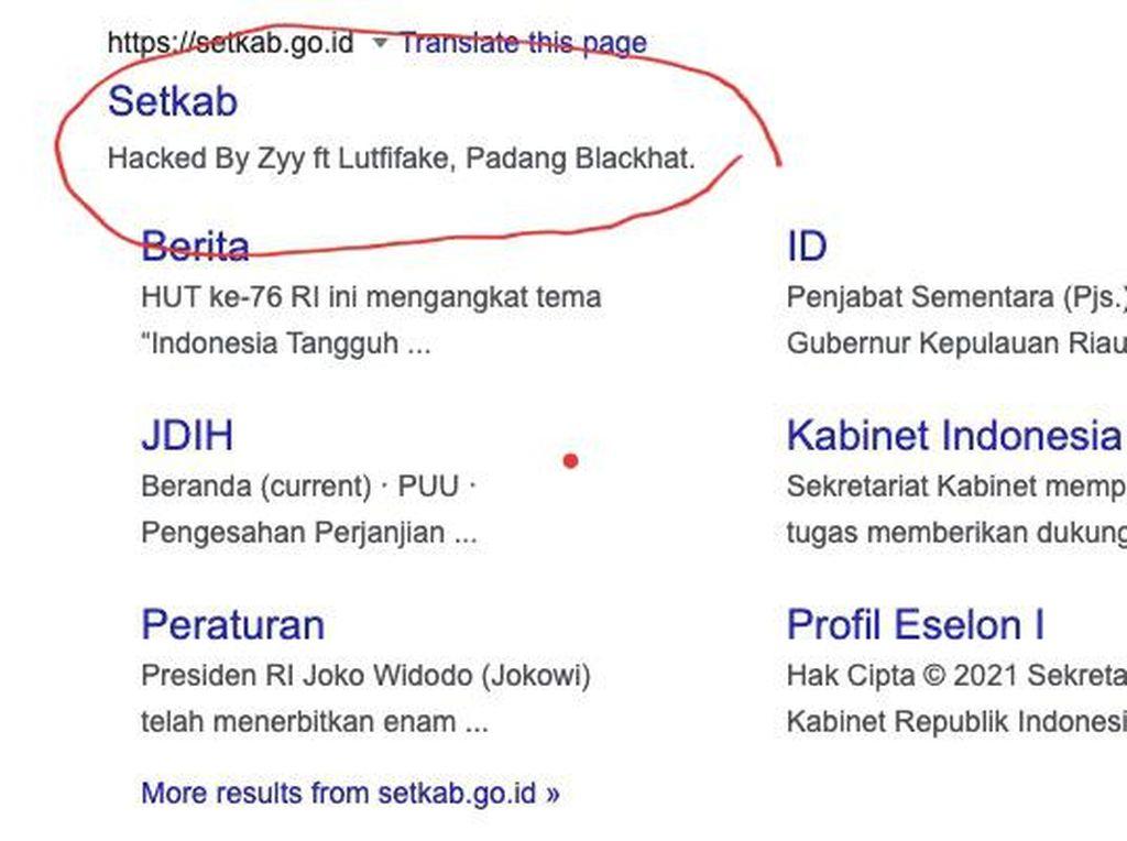 Peretas Situs Setkab Mengaku Padang Blackhat, Siapa Dia?
