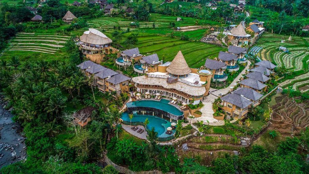 Foto Wapa di Ume Sidemen Bali, Hotel Tercantik ke-6 Sedunia