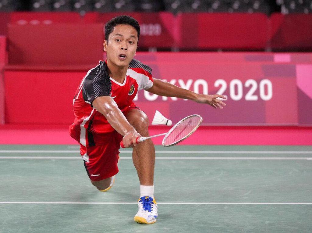 Anthony Ginting Gagal ke Final, Kalah dari Chen Long