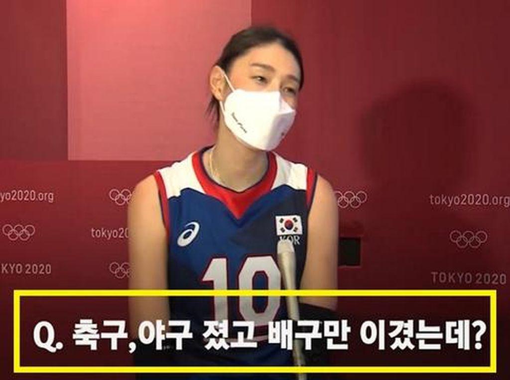Stasiun TV Korea Dikecam Lagi, Wawancara Atlet Olimpiade Diberi Caption Sesat