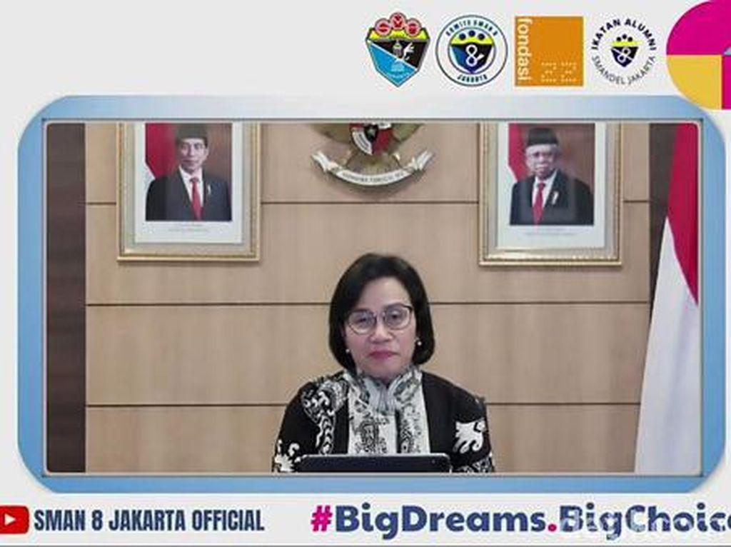EDUFAIR Part 2 SMAN 8 Jakarta Hadirkan Menkeu Sri Mulyani Jadi Keynote Speech