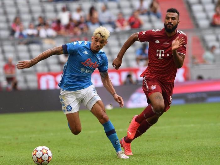 Napoli mengalahkan Bayern Munich dalam laga pramusim, Sabtu (31/7/2021).