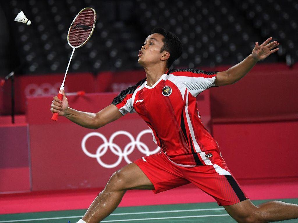 Piala Sudirman 2021: Anthony Ginting Kalah, Indonesia 1-2 Denmark