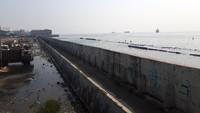 Menengok Tanggul NCICD Muara Baru di Tengah Proyeksi Jakarta Tenggelam