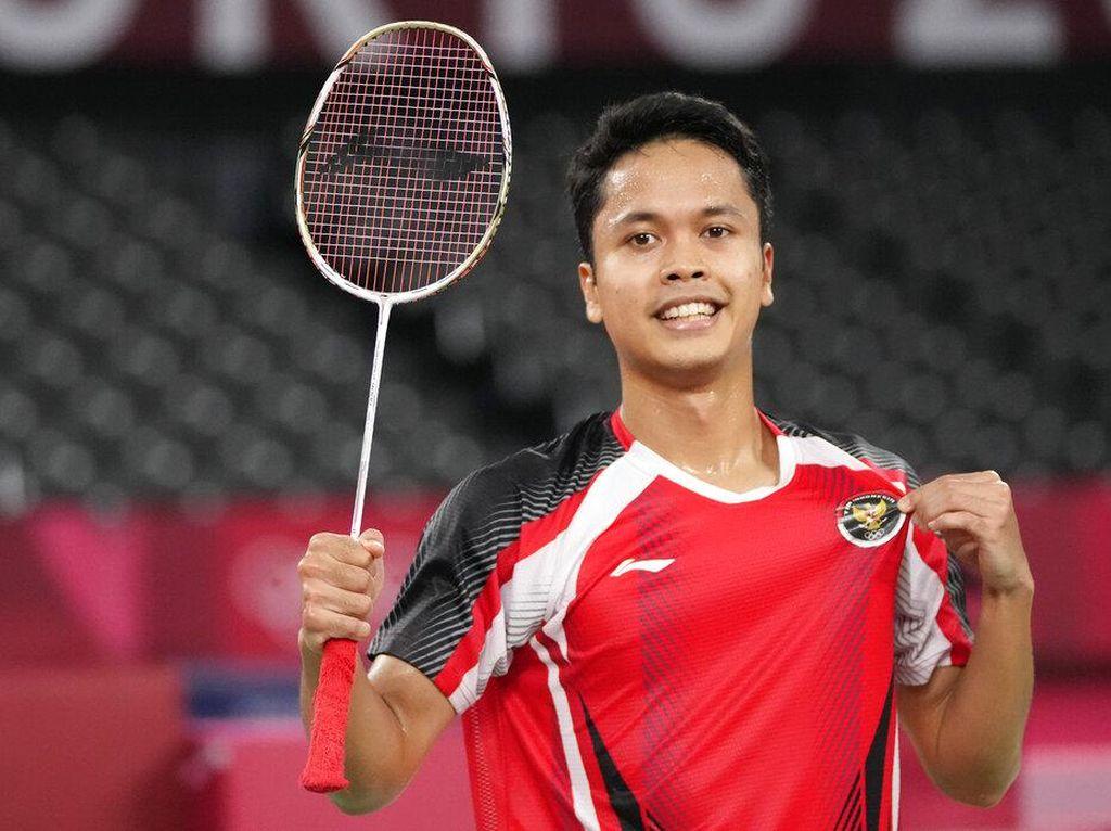 Anthony Ginting Akhiri Puasa Medali Olimpiade 17 Tahun Tunggal Putra