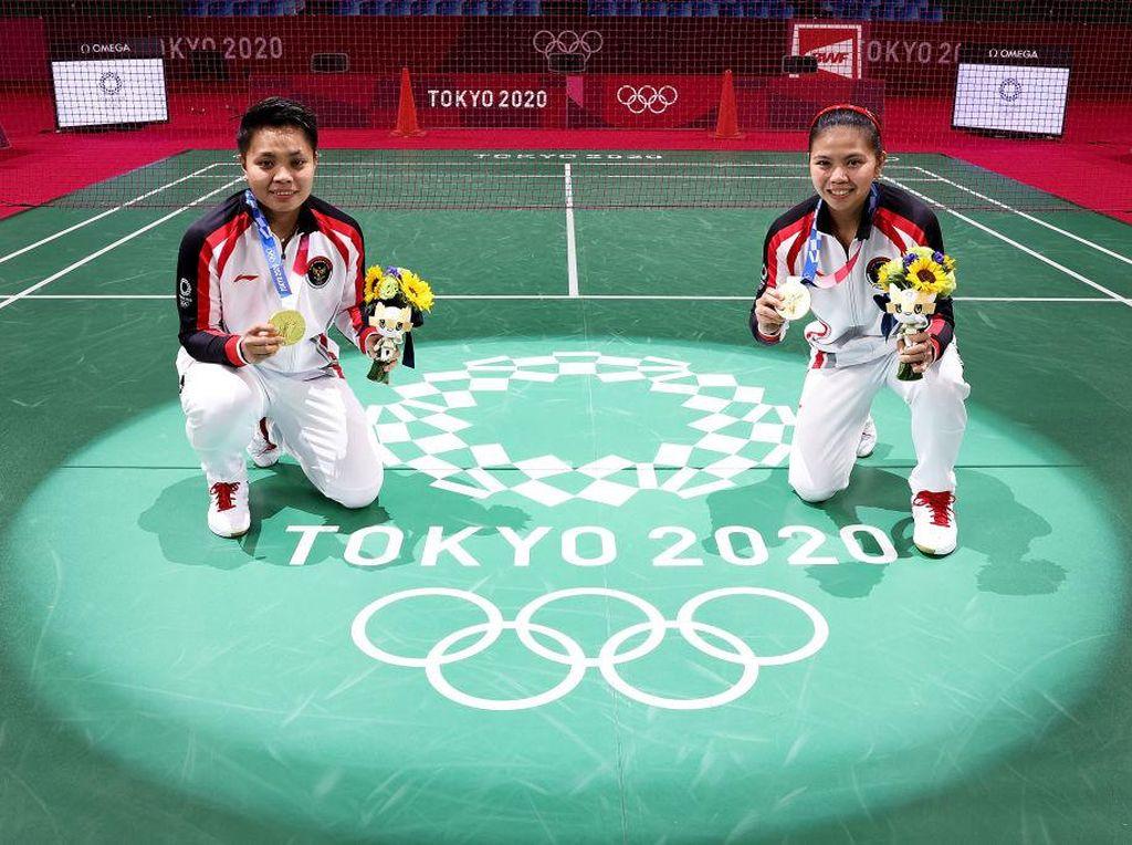 Greysia/Apriyani Sempurna Raih Emas Olimpiade Tokyo, Tak Pernah Kalah!