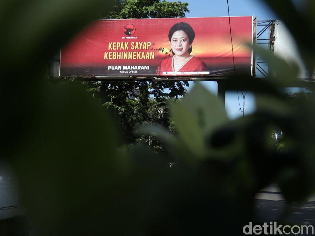 Baliho Puan Vs Kaesang, Elite PDIP Pastikan Bukan Kontestasi