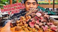 Bikin Kantong Kering, Nasi Goreng Mahal Ini Harganya Capai Jutaan Rupiah!