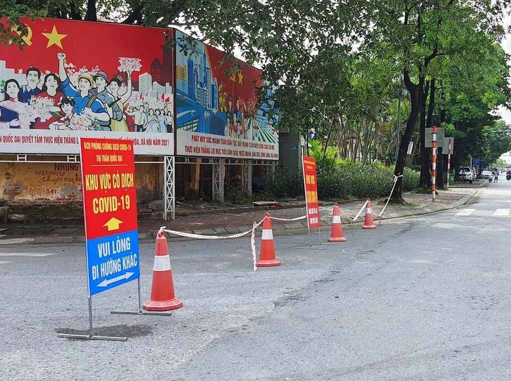COVID Vietnam: Kasus Harian di Atas 8 Ribu-Lockdown Diperpanjang
