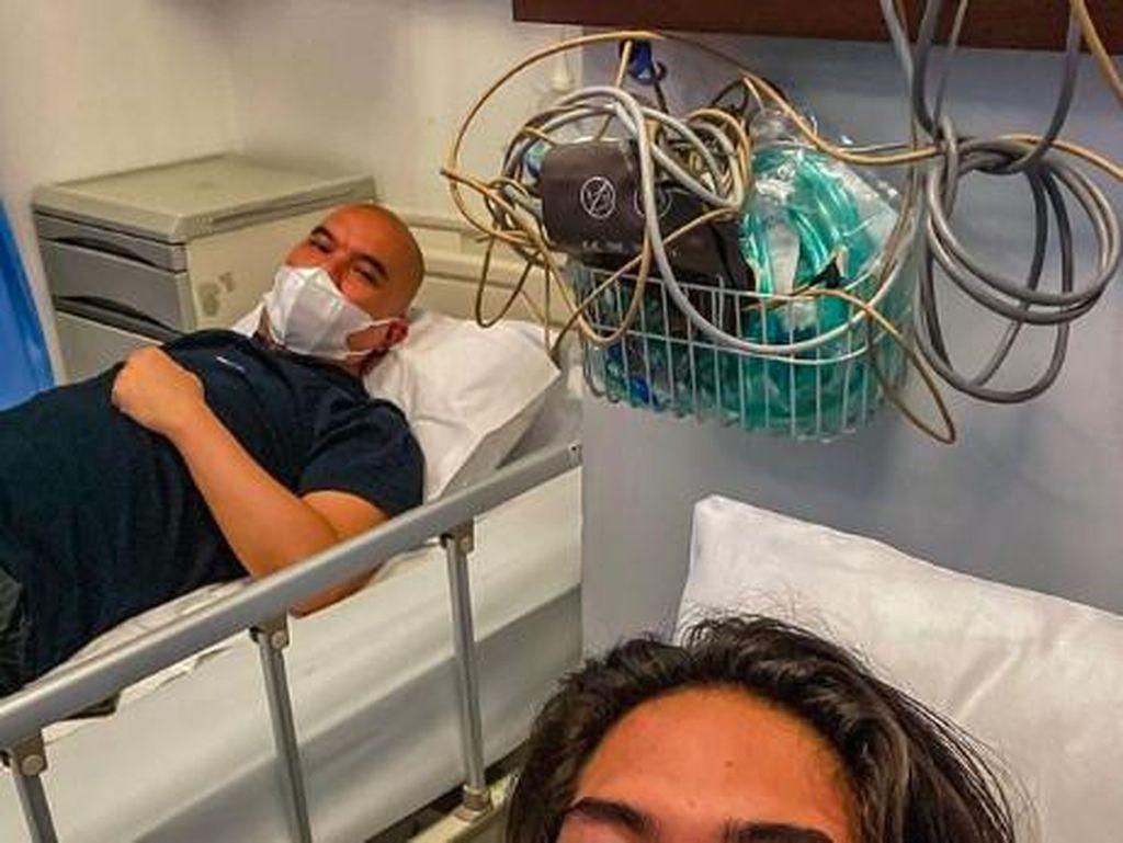Kondisi Sebenarnya Ahmad Dhani yang Terbaring di RS