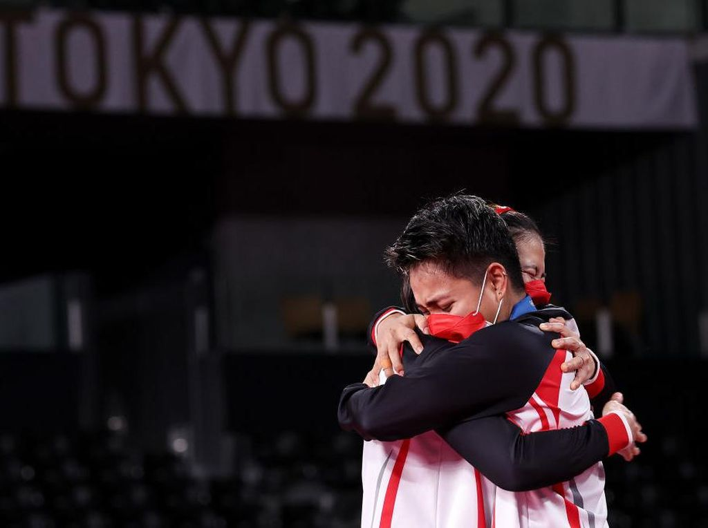Indonesia Raya Akhirnya Berkumandang di Olimpiade Tokyo 2020