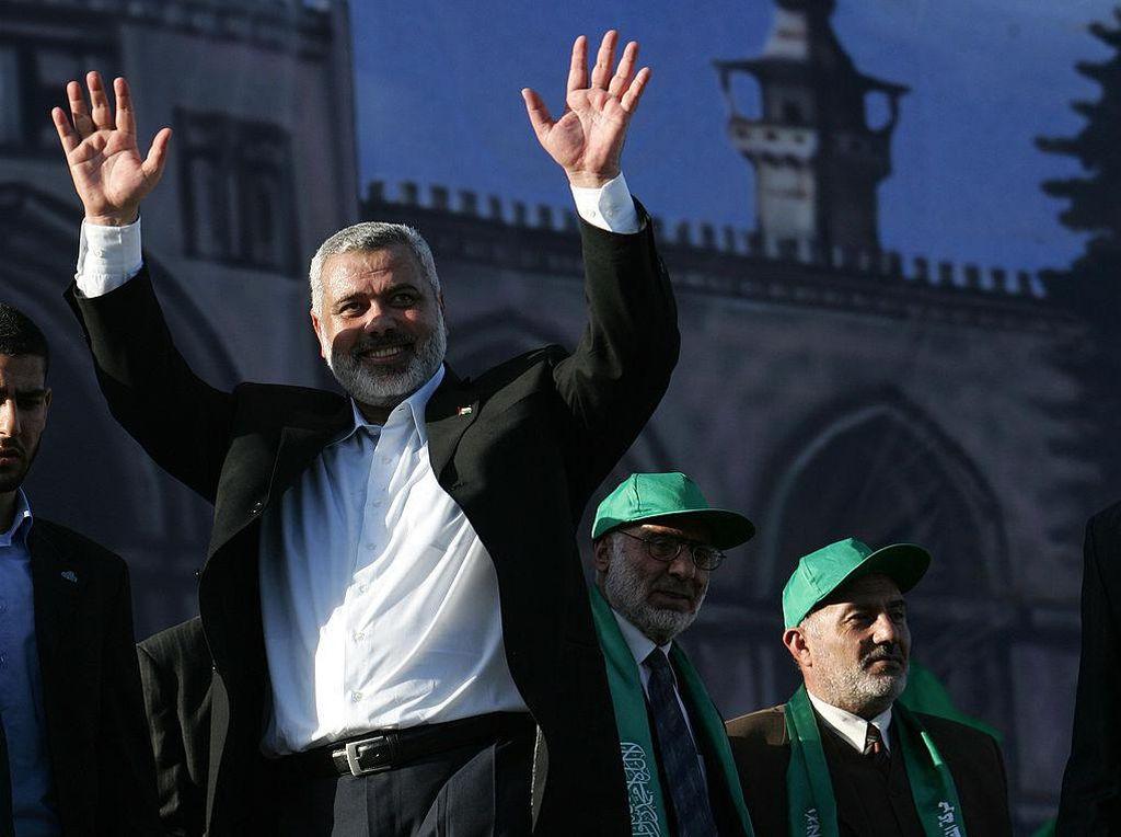 Potret Ismail Haniyeh yang Kembali Pimpin Hamas