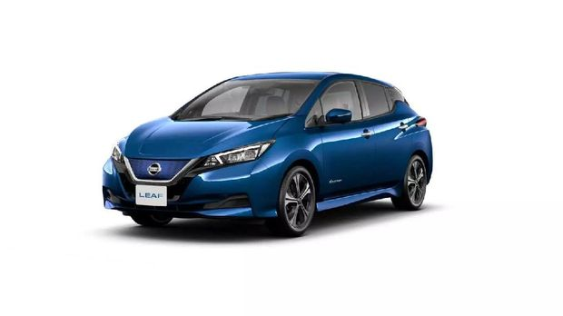 Nissan Leaf resmi meluncur di Indonesia