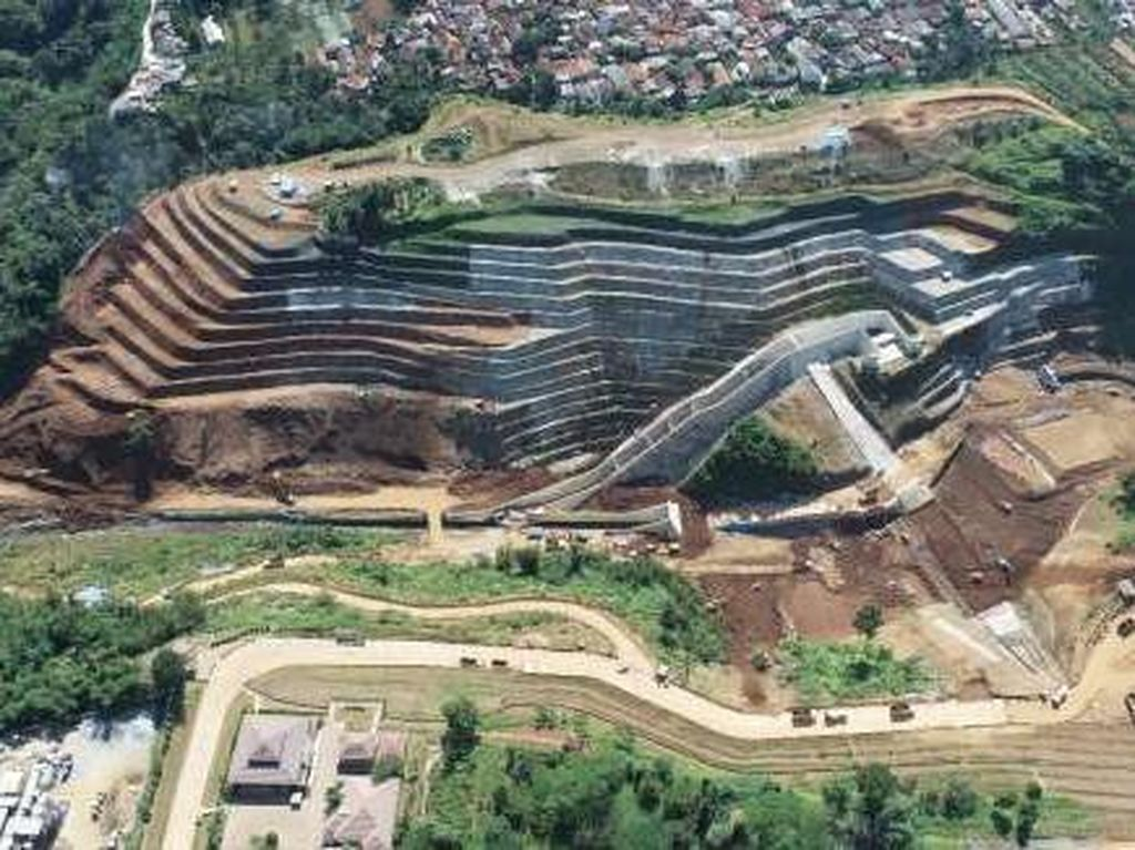 Penampakan Terkini Proyek Penangkal Banjir Jakarta