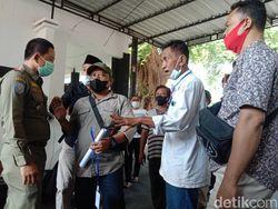PKL-Satpol PP Sempat Adu Mulut Saat Audiensi Minta Pelonggaran PPKM Kudus