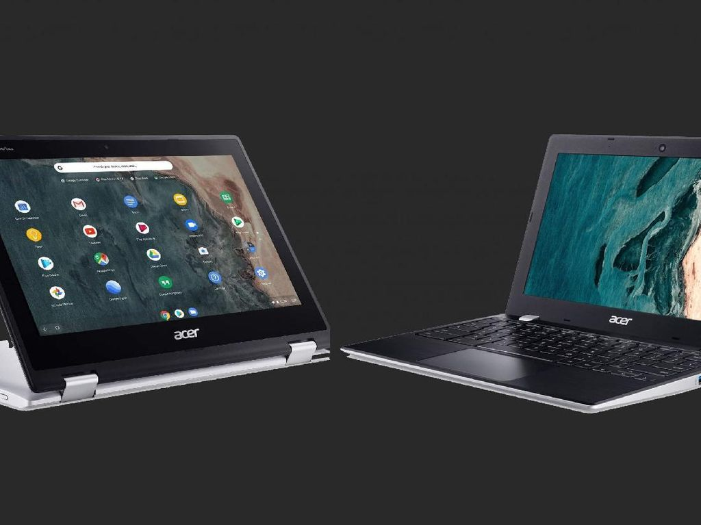 Acer Garap 4 Chromebook untuk Sekolah di Indonesia