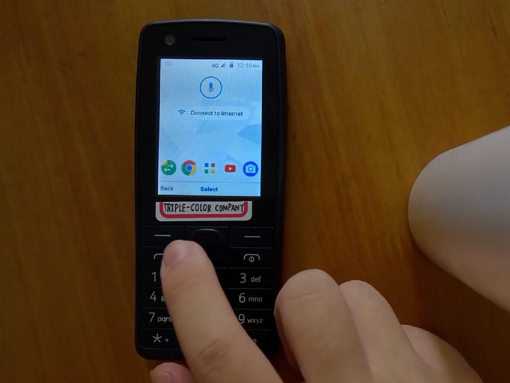 Wujud Android untuk Feature Phone Terungkap