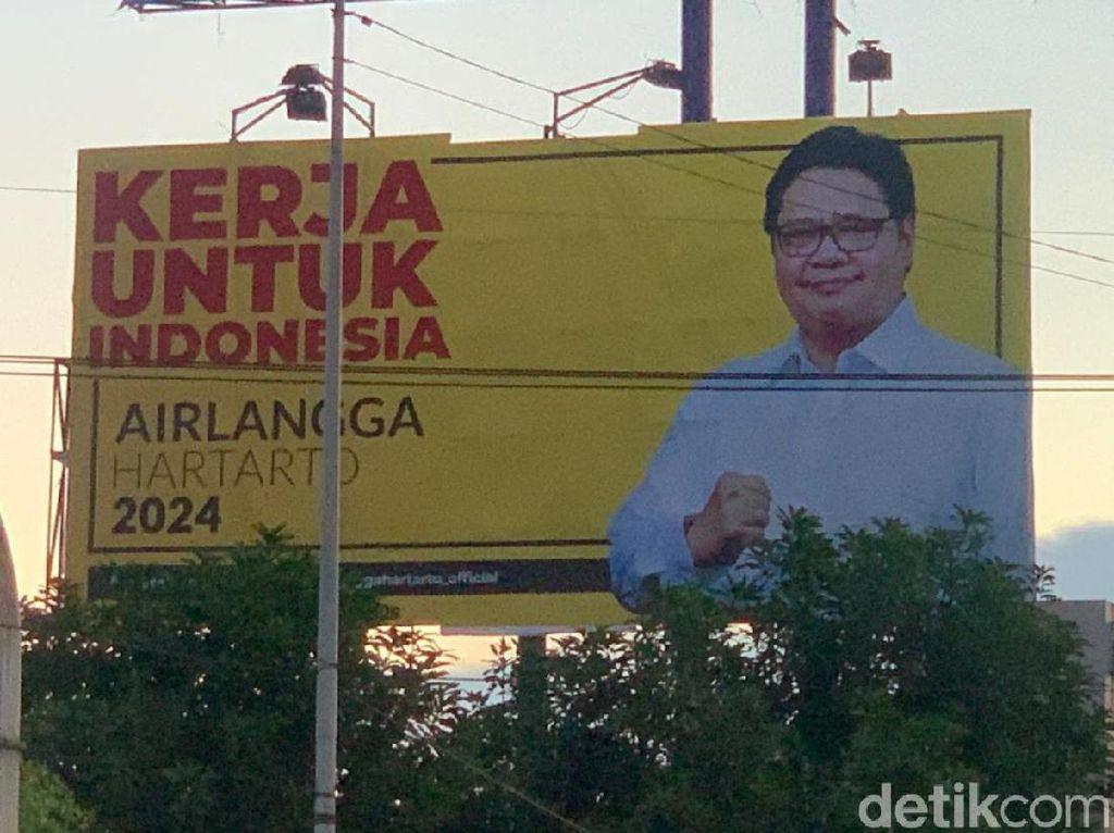 Partai Sebesar Golkar Kenalkan Ketum Lewat Baliho, Survei Membuktikan...