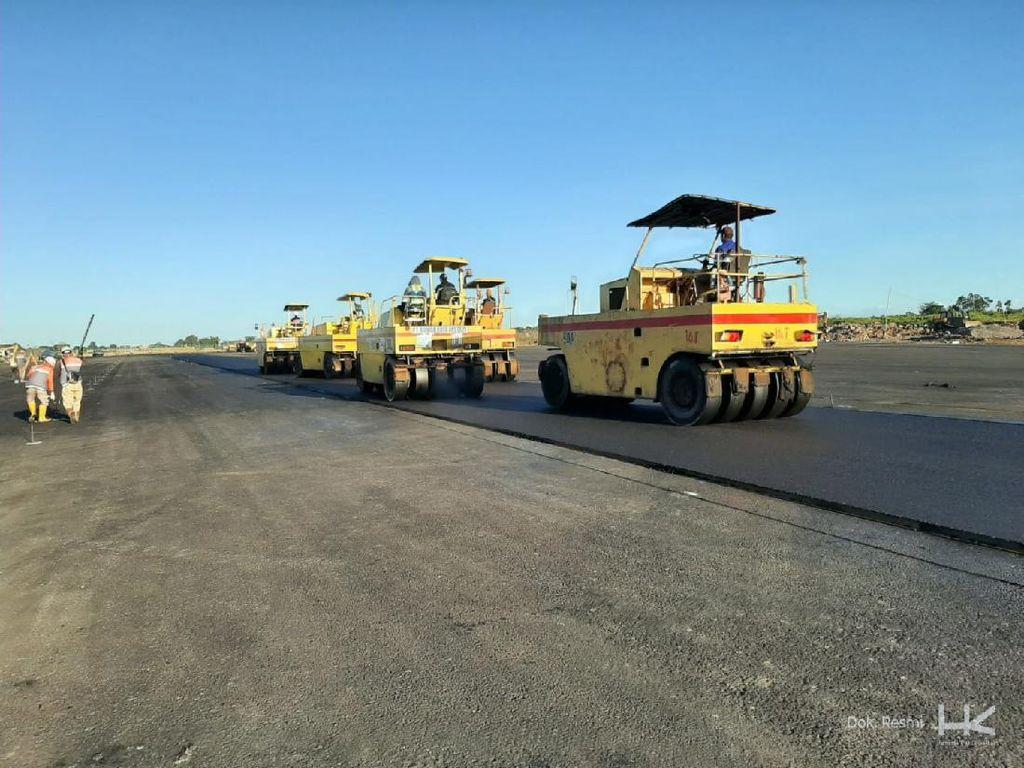 Perpanjangan Runway Bandara Lombok Praya Kelar Oktober