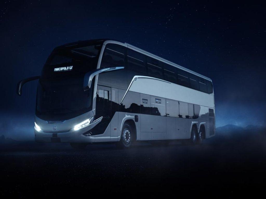 Lihat Lebih Dekat Gagahnya Bus Terbaru Buatan Marcopolo
