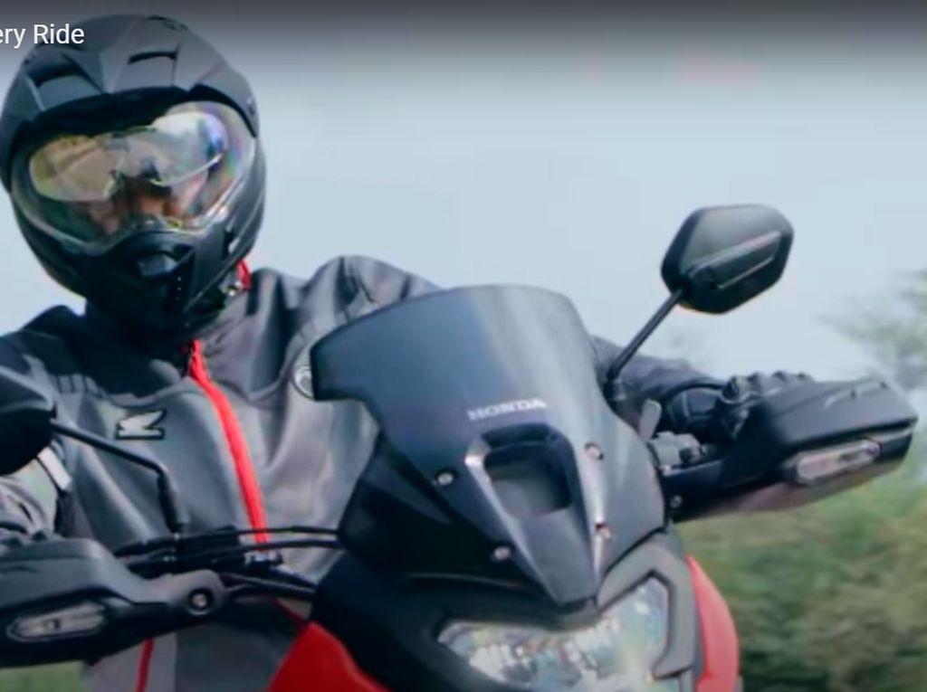Sebar Video Teaser, Honda Siap Luncurkan Mini Africa Twin
