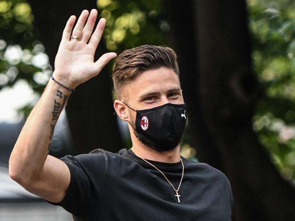 AC Milan: Olivier Giroud Positif Virus Corona