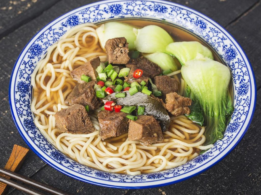 Resep Mie Kuah Daging Khas Taiwan yang Kuahnya Bening Berempah