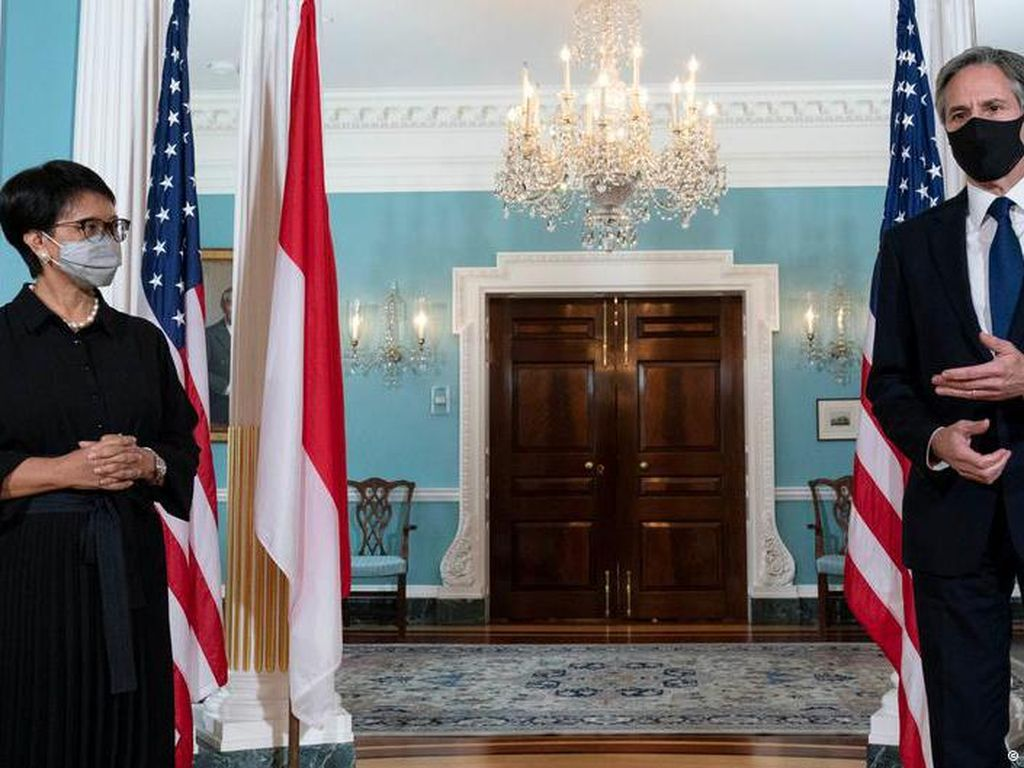 Menlu AS dan Indonesia Bahas Keamanan Maritim Laut China Selatan